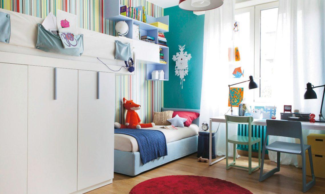 Come arredare una cameretta per due casafacile - Come decorare una cameretta ...