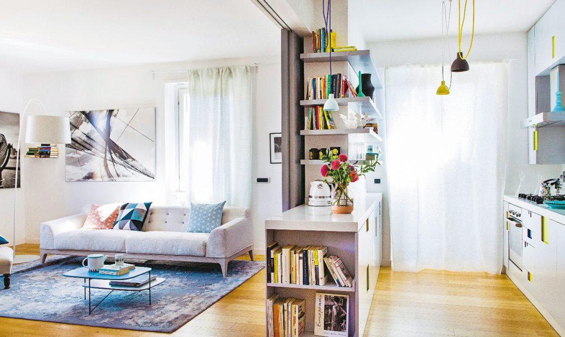 Pareti mobili per dividere la zona giorno e notte casafacile for Mobili tinello