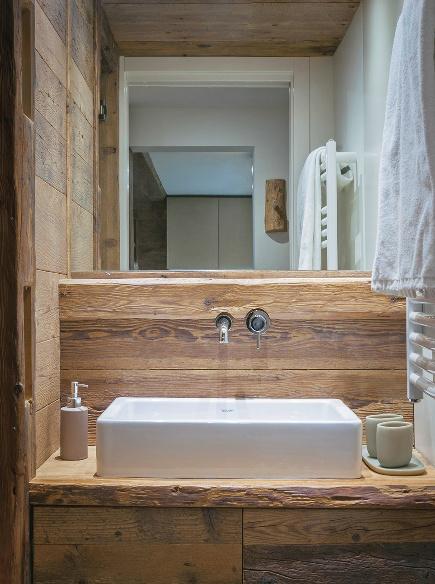 Case di montagna soluzioni e idee per una mini casa casafacile - Cucine per case di montagna ...
