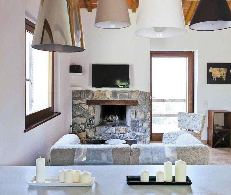 Arredare in campagna con stile moderno casafacile for Casa moderna in campagna