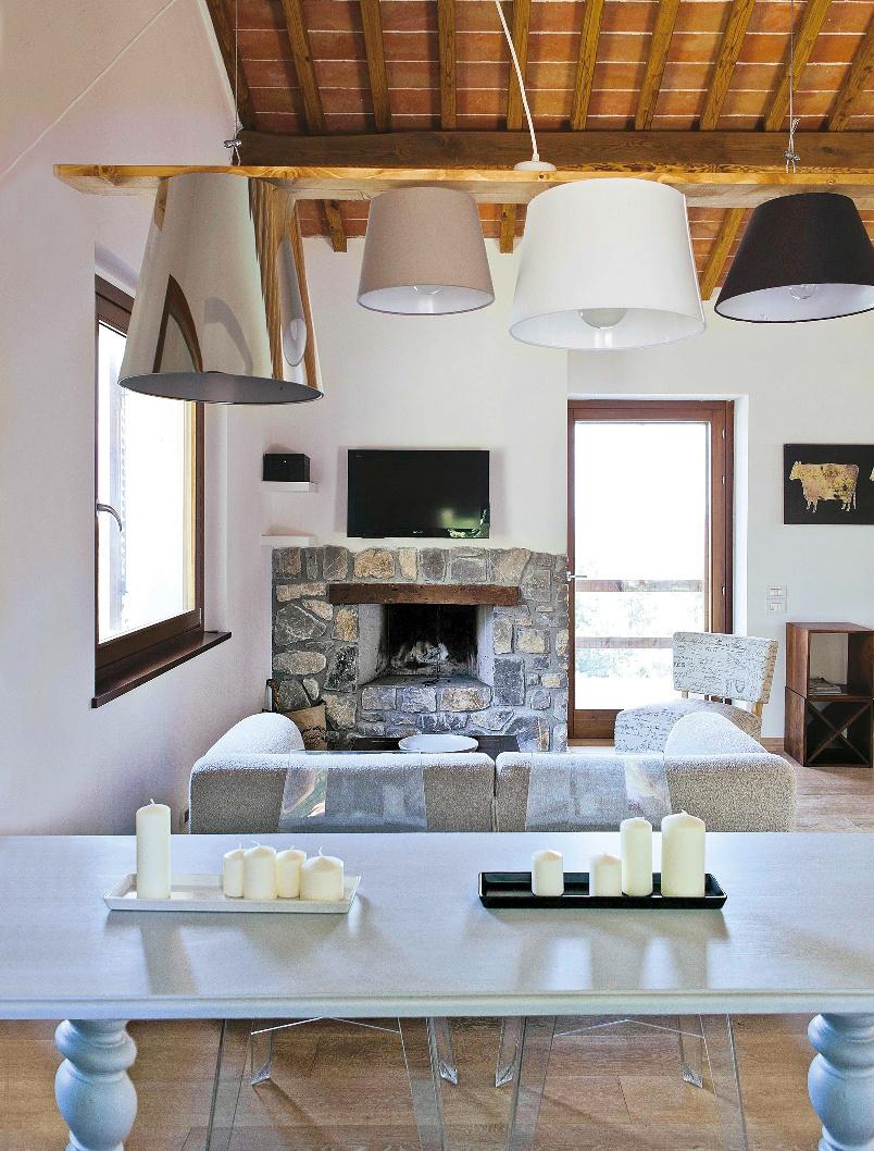 Arredare in campagna con stile moderno casafacile for Piani domestici contempory