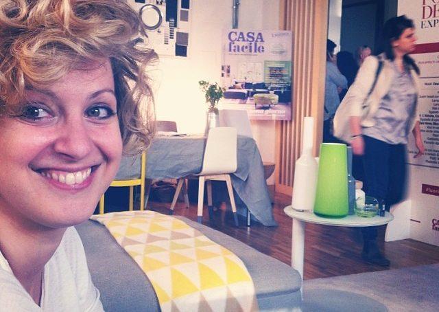 @sere_cappelloabombetta At @casafacile #fuorisalonecf location meravigliosa! #casafacile #workshop #relax #home