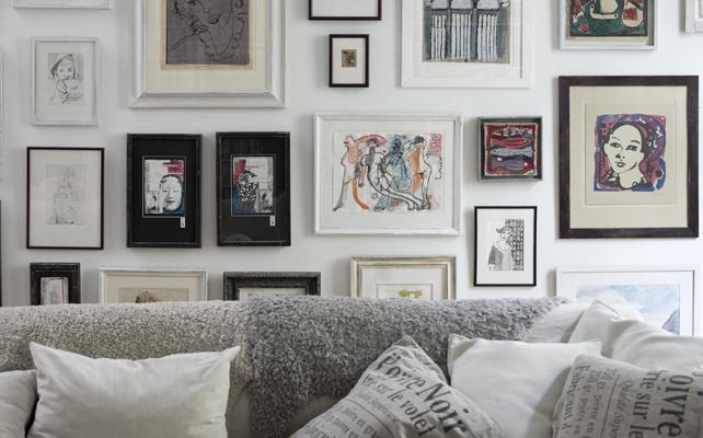 come appendere i quadri alle pareti - casafacile