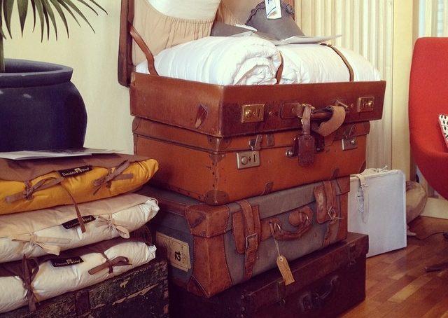 Adoro le valigie vintage #FoodExp #fuorisalonecf #fuorisalone