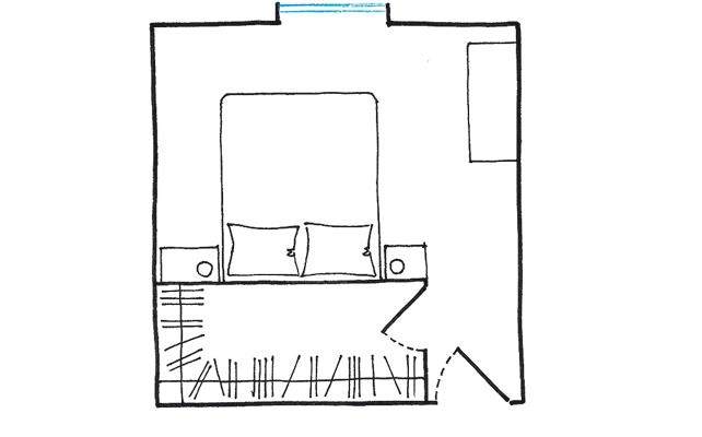Misure Standard Camera Letto Matrimoniale.La Cabina Armadio 10 Progetti A Seconda Della Tua Camera Casafacile