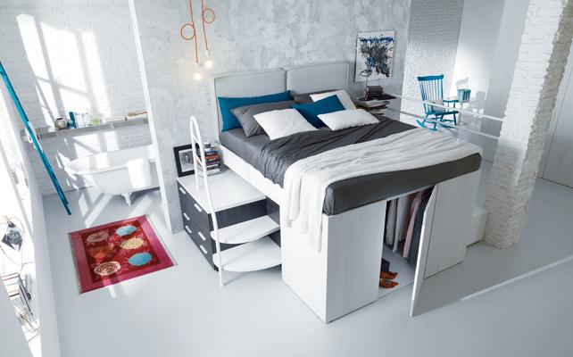 Cabina Armadio In Cartongesso Dietro Letto : La cabina armadio progetti a seconda della tua camera casafacile
