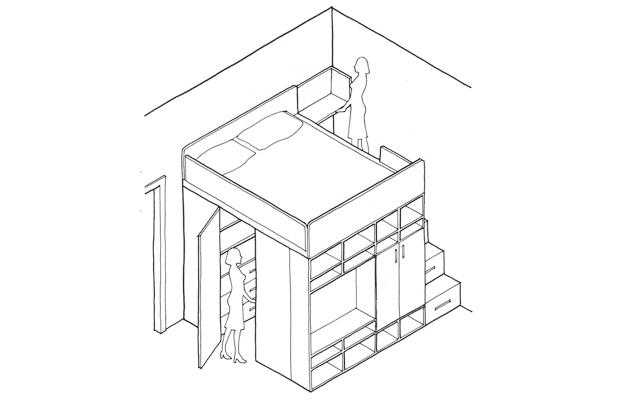 La cabina armadio 10 progetti a seconda della tua camera for Scala a chiocciola della cabina
