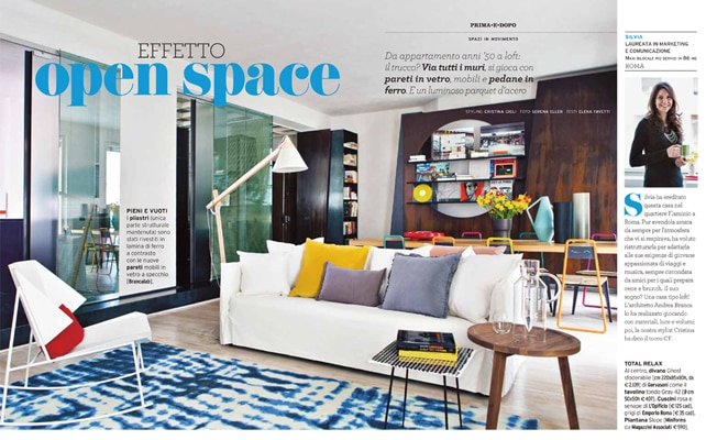 Copia lo stile del living open space
