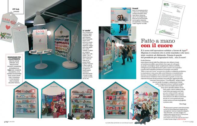 """Inaugura Casa Mirabello, con il contributo della creatività """"made in CF"""""""