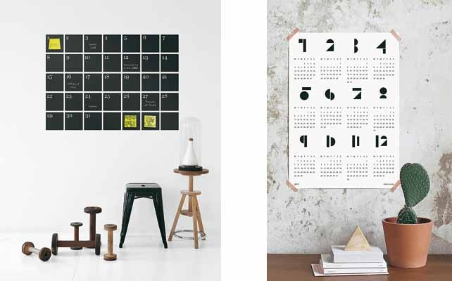 Come creare un calendario chic