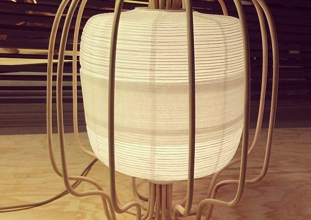 Rattan Lamp di Hettler.tüllmann Berlin Design Selection #fuorisalonecf #venturalambrate #berlindesignselectin2014