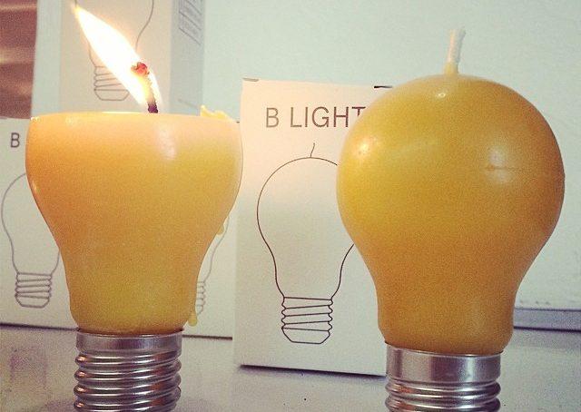 Candela o lampadina? B Light di Jeroen Van Leur #fuorisalonecf #venturalambrate