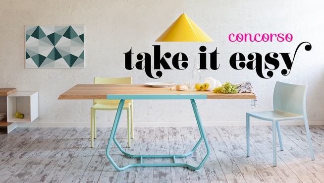 Diventa designer col contest Take it easy di Formabilio!