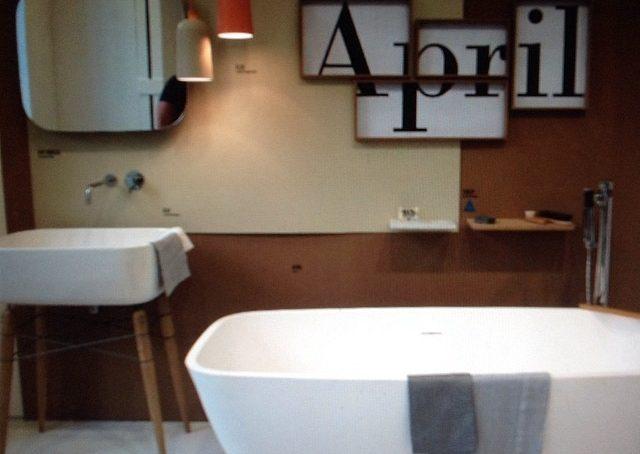 il bagno secondo #ex.t in #zonatortona #fuorisalone #fuorisalonecf #casafacile #designweek