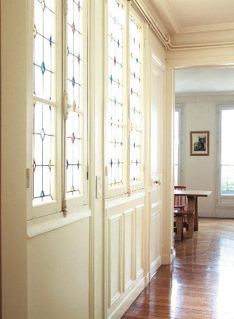 Usare il colore in un appartamento d'epoca