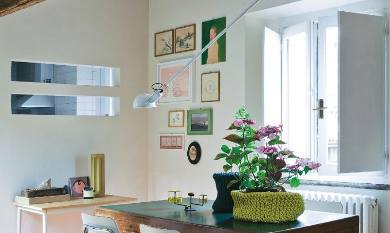 Arredi vintage per un piccolo appartamento