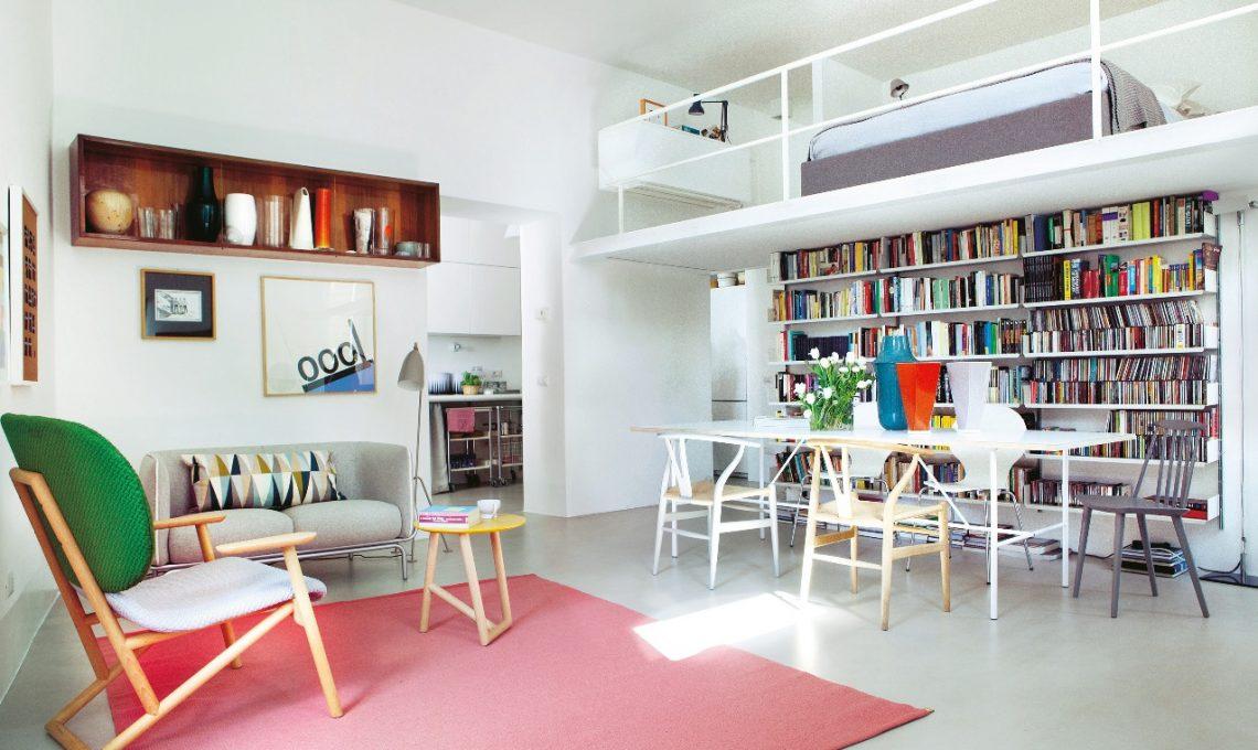 Sedie Vintage Colorate : Arredare in stile nordico con pezzi vintage e colore casafacile
