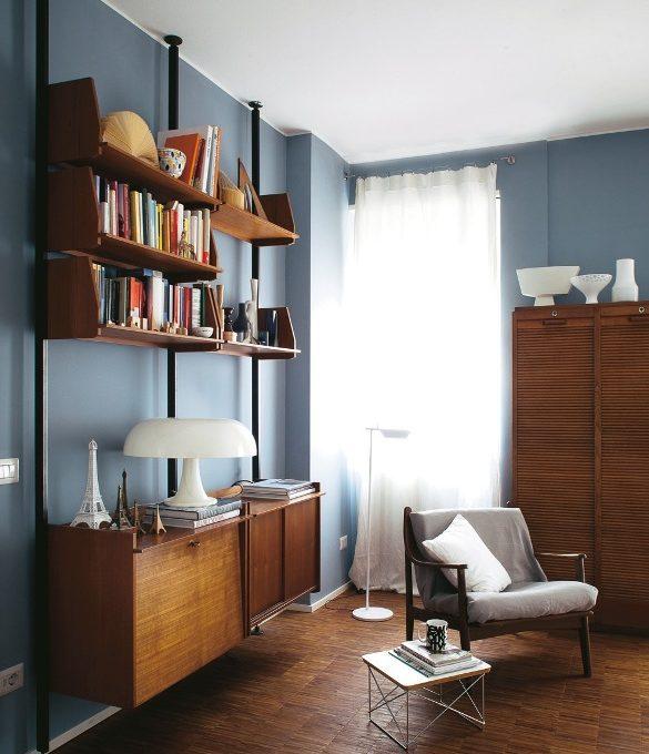 La casa della stylist 57 mq in stile vintage casafacile - La casa vintage ...
