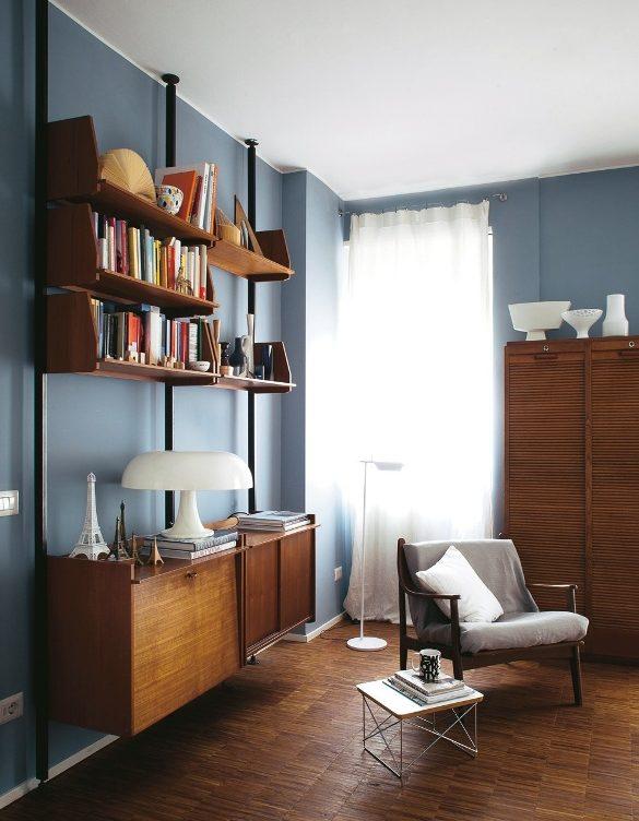 La casa della stylist: 57 mq in stile vintage