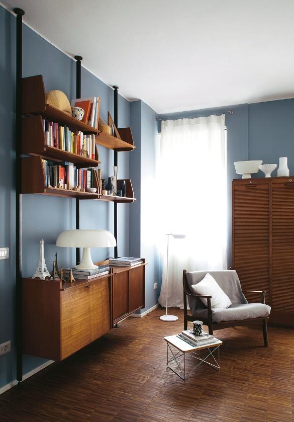 La casa della stylist 57 mq in stile vintage casafacile for Animali domestici della cabina di nashville