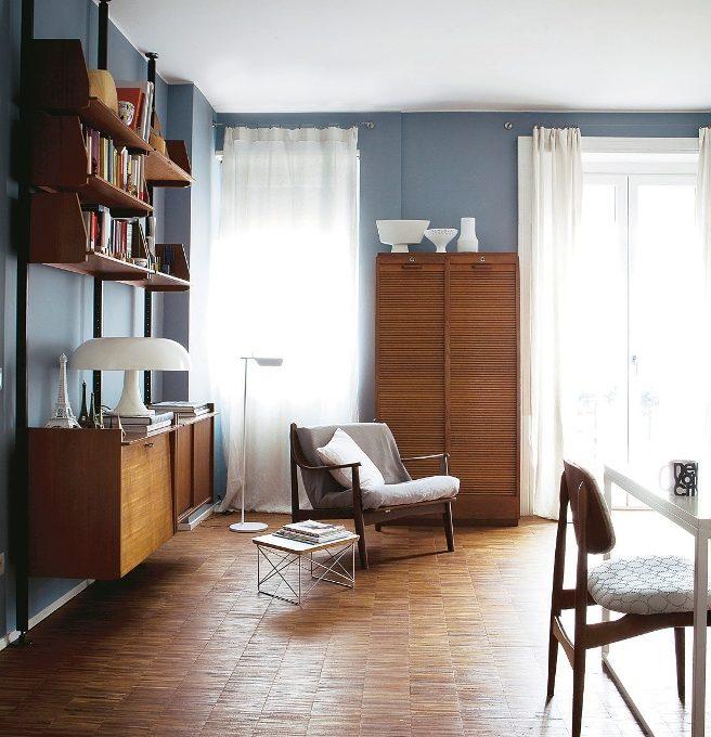 la casa della stylist 57 mq in stile vintage casafacile
