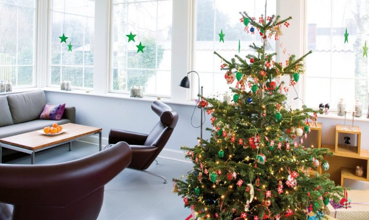 Decorare in stile nordico a Natale