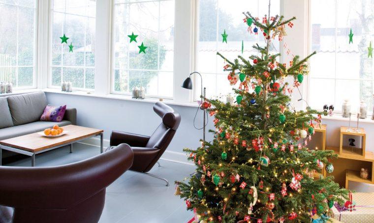 Decorare in stile nordico a Natale