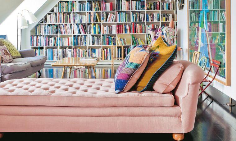Pareti colorate e mobili vintage casafacile for Come progettare mobili