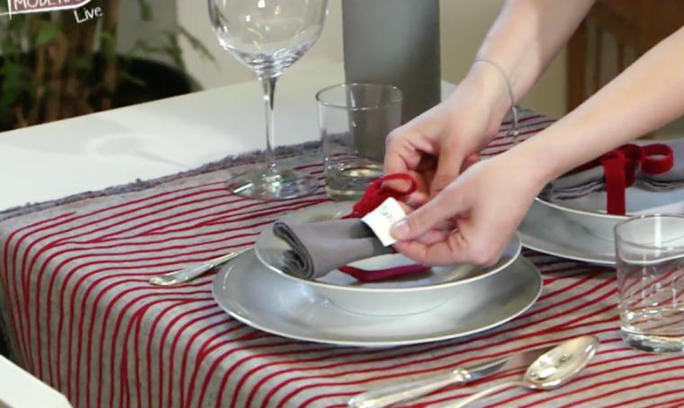 Apparecchiare una tavola romantica