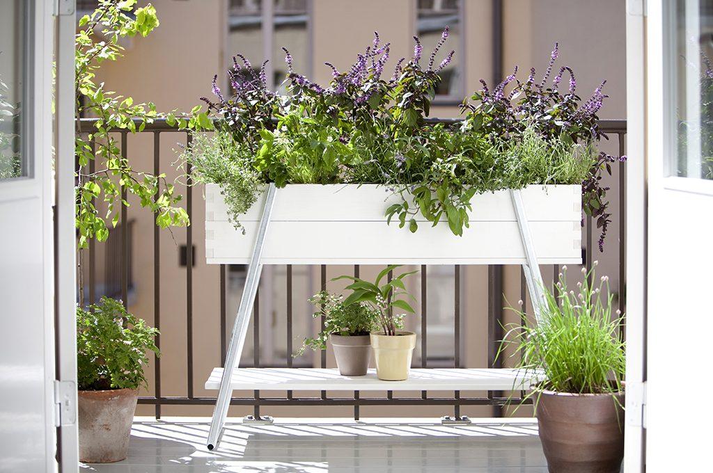 Balcone piccolo 12 idee per spazi small casafacile for Allestire un giardino piccolo