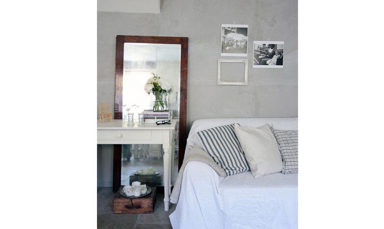 Il soggiorno in stile shabby chic