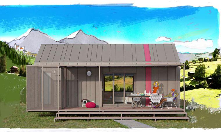 Vacanze di design nelle mobile homes!
