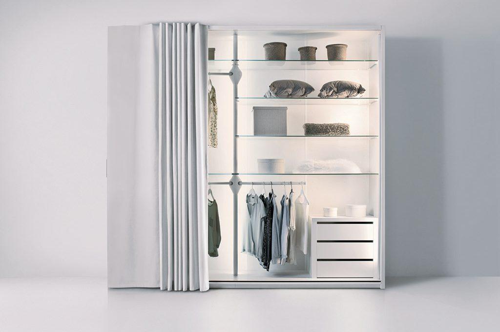 L 39 armadio open che diventa invisibile casafacile - Soluzioni per cabina armadio ...