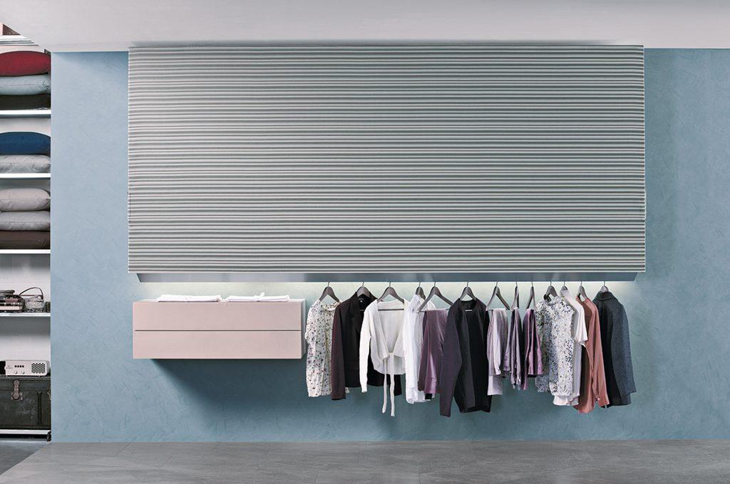 Cabina Armadio Tenda Polvere : Larmadio open che diventa invisibile casafacile