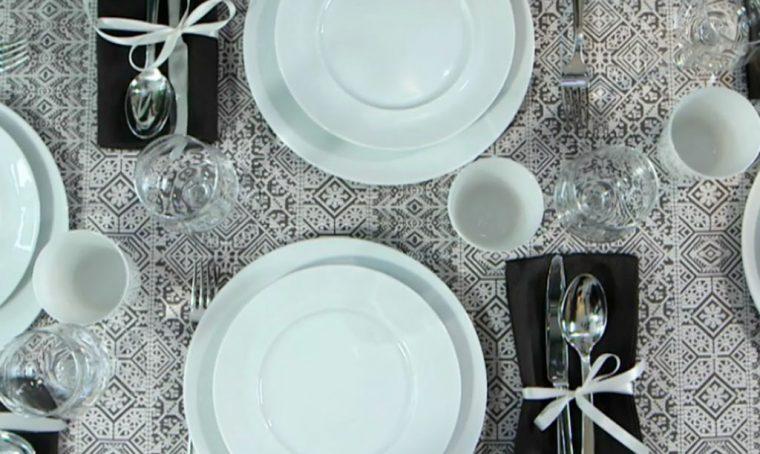 Come apparecchiare con i piatti bianchi