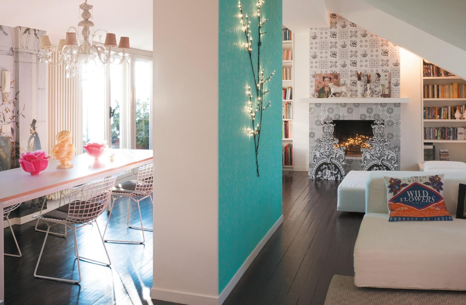 Decorazioni romantiche e trompe l 39 oeil moderni casafacile for Piani domestici contempory