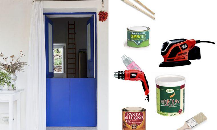 Come ridipingere la porta: restyling fai da te
