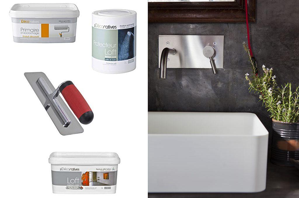 Pittura Effetto Cemento Grezzo : Restyling fai da te: muri effetto cemento casafacile
