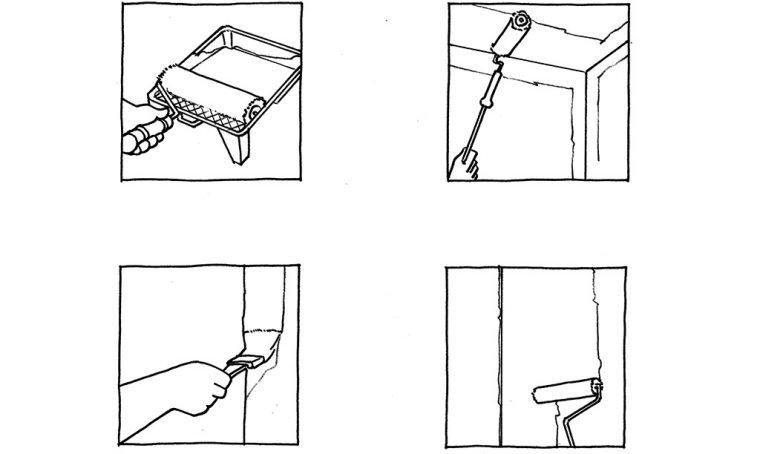 Restyling fai da te: tinteggiare le pareti