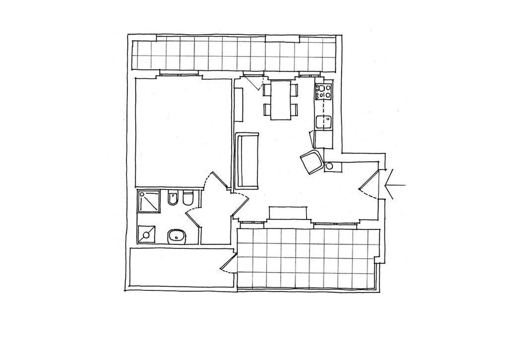 Come si misurano i metri quadri di una stanza great avoid come vivere in metri quadrati with - Come calcolare metri quadri casa ...