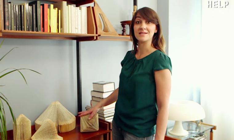 Organizzare la libreria con creatività