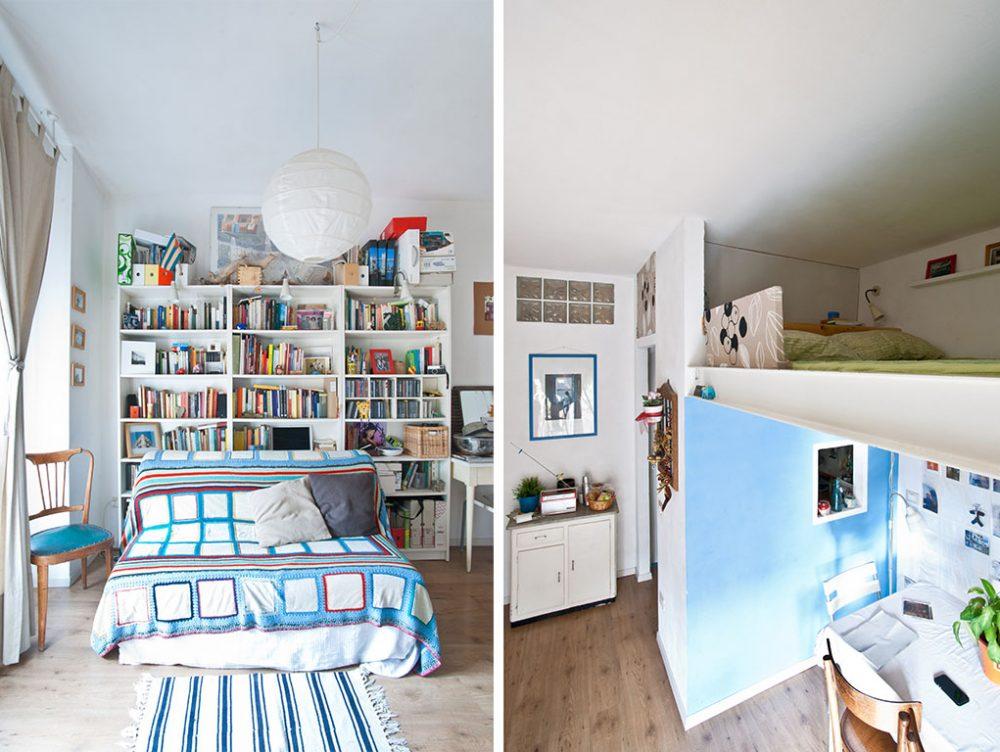 Restyling di un appartamento con soppalco casafacile for Planimetrie cottage con soppalco