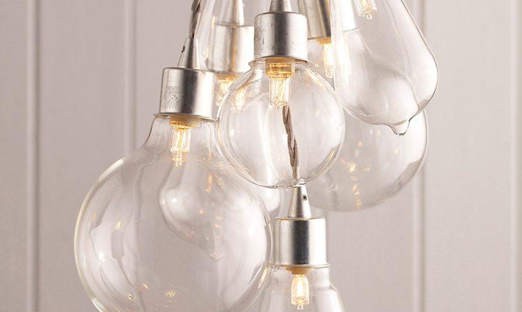 Tendenza luci: le lampadine… 'nude'!