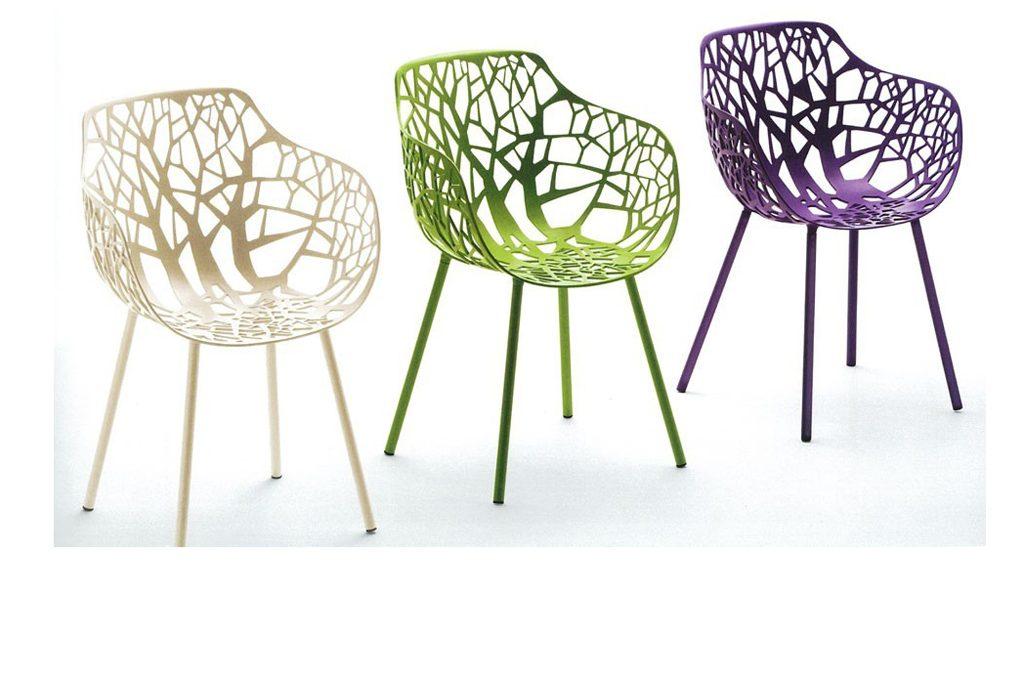 Sedie Da Giardino Colorate.Sedie E Tavolini Da Esterno Casafacile