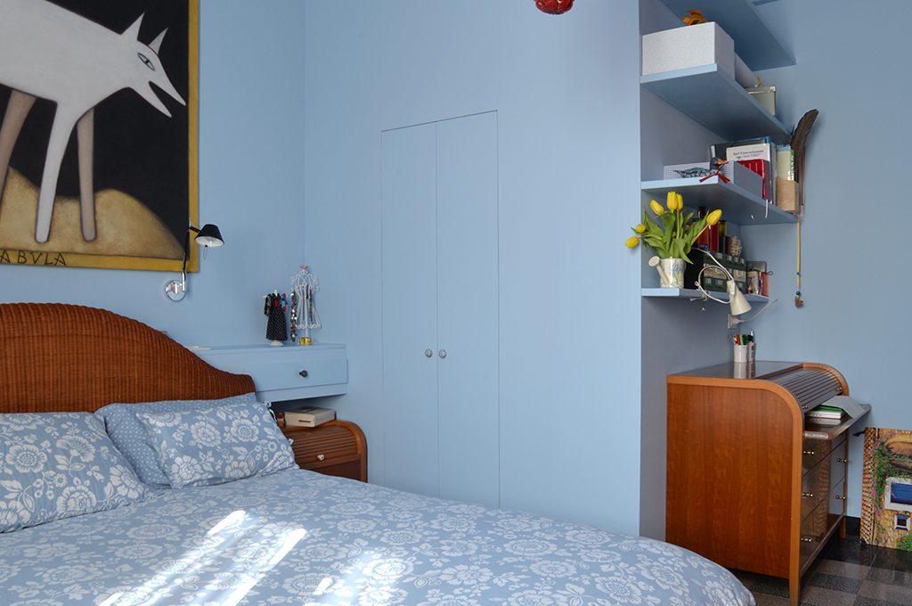 Cabina armadio angolo studio in camera casafacile - Cabina armadio in camera ...