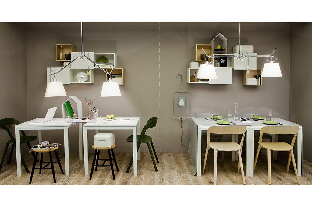 Stanze doppio uso: sala da pranzo e studio - CASAfacile