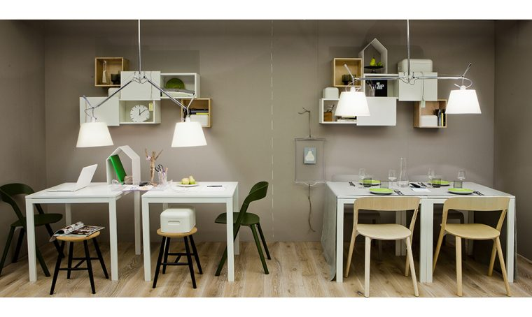 Stanze doppio uso: sala da pranzo e studio
