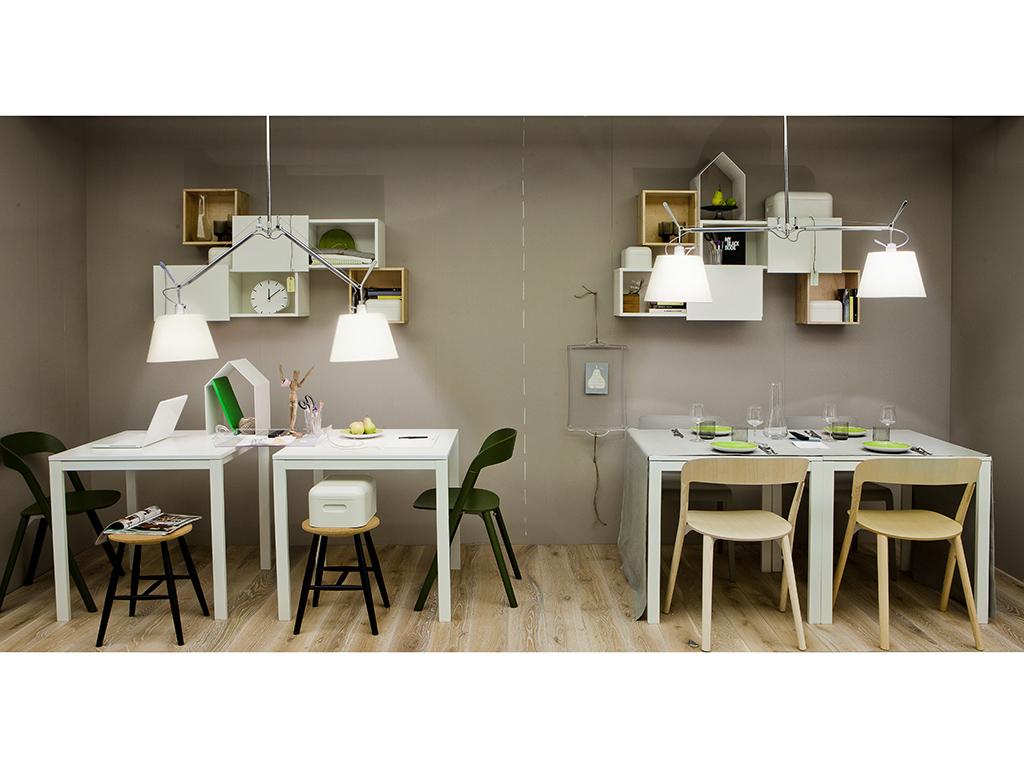 Stanze doppio uso sala da pranzo e studio casafacile - Stanze da pranzo ...