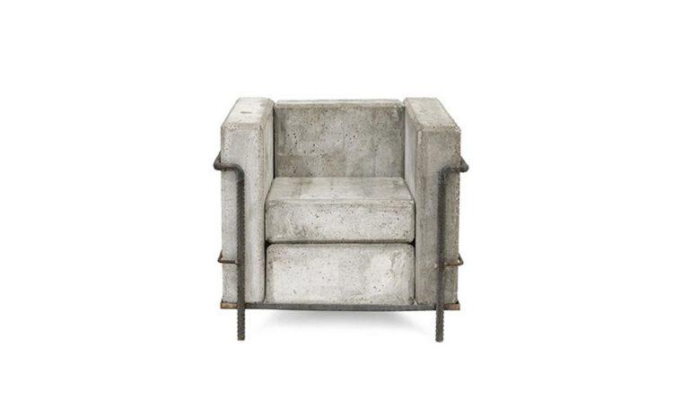 L'idea chic: i mobili effetto cemento