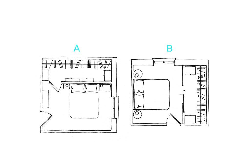 Come progettare la cabina armadio casafacile for Come costruire una cabina di pietra